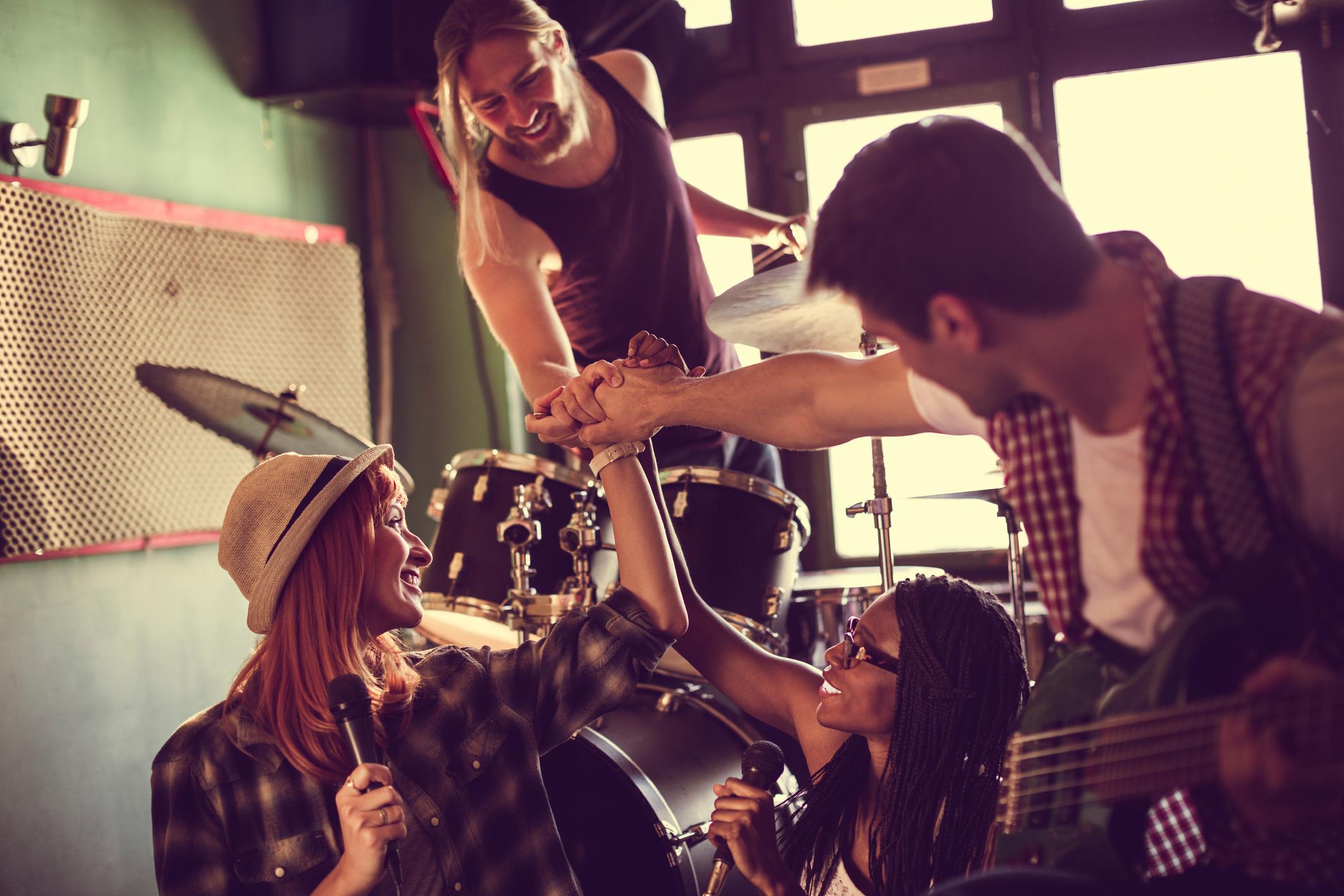 Börja spela i band